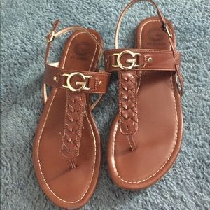 Guess T-strap Sandals